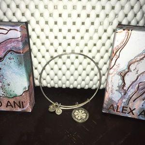 Alex & Ani bracelet - Irish Clover Gaelic Charm